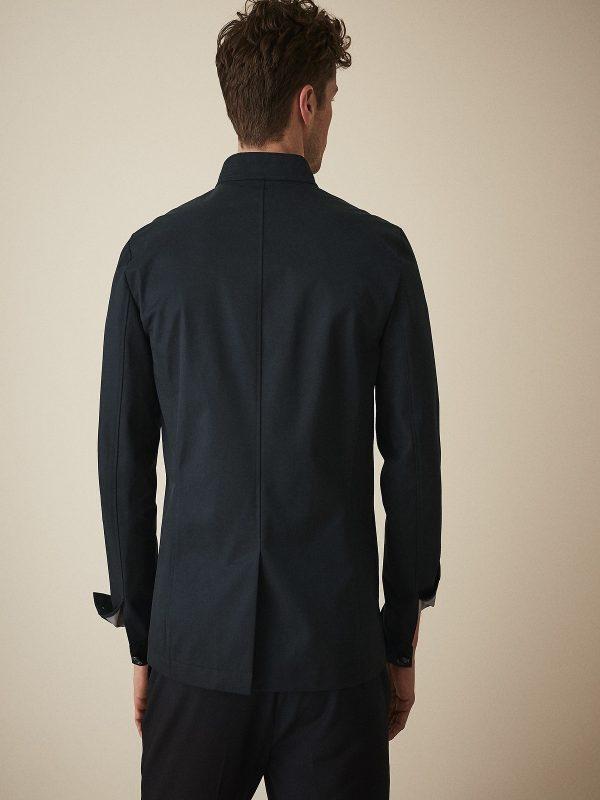 trending blue cotton jacket