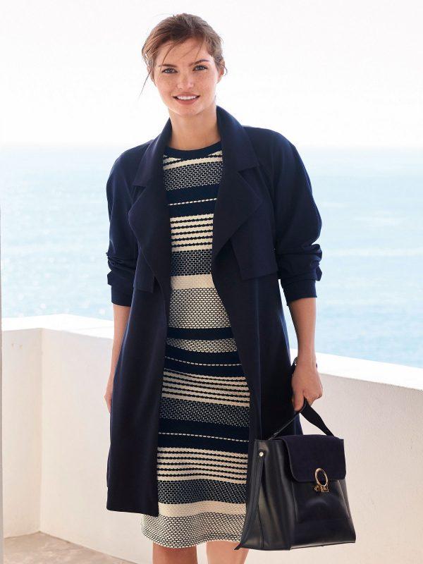 women wool duster coat