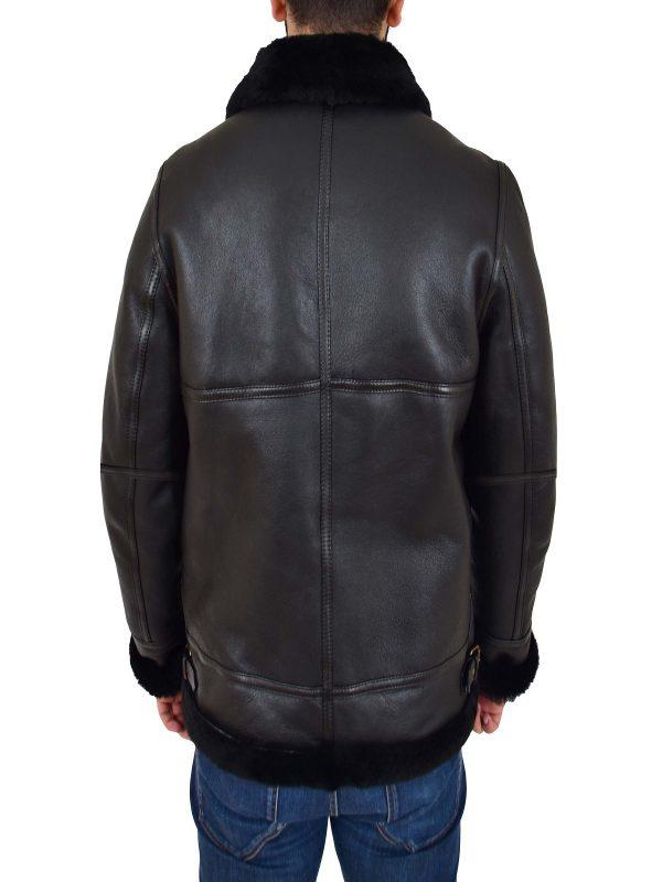 men aviator leather jacket