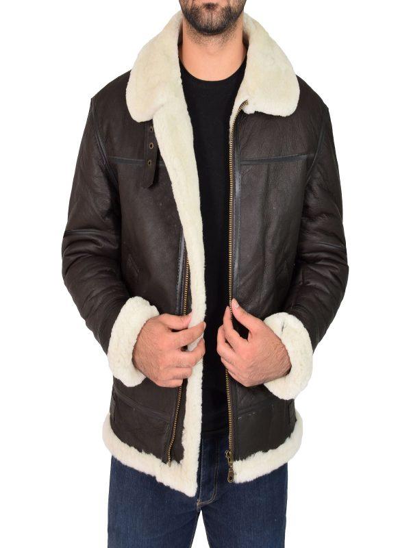 trending men brown jacket