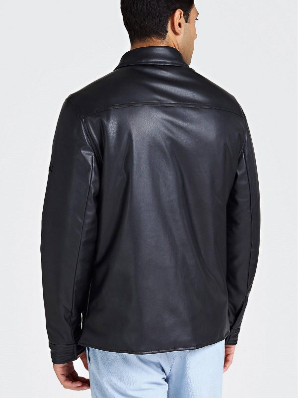 trending men leather jacket