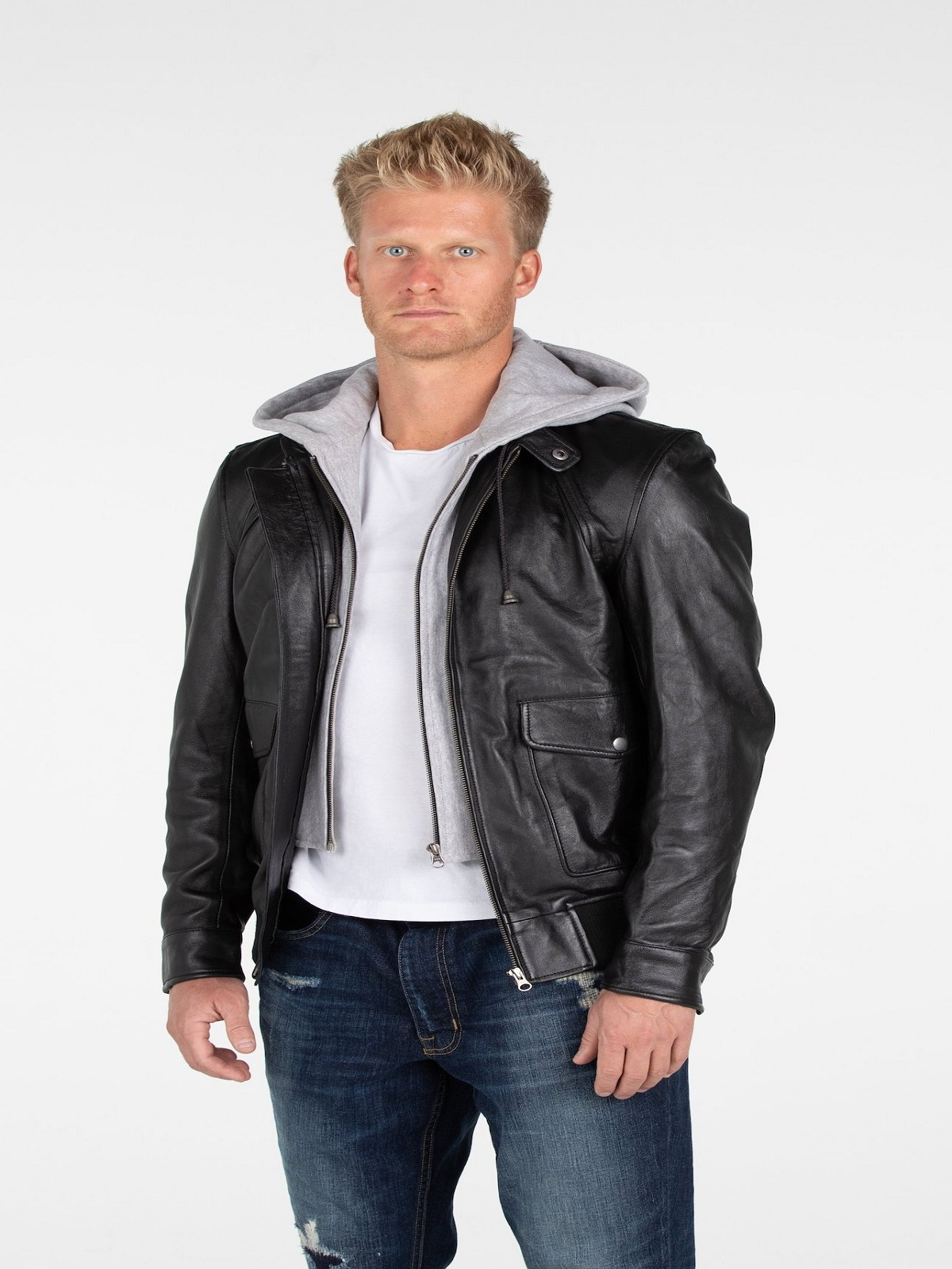 Men Latest Biker Style Jacket Men Jacket Mauvetree