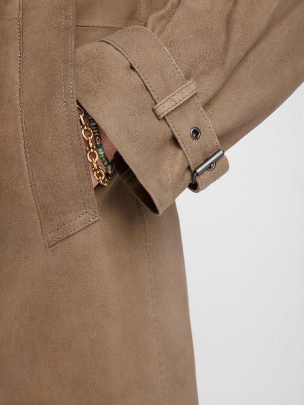 trending men brown coat