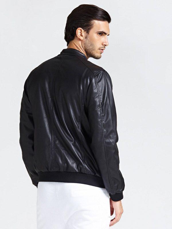 trending men black jacket