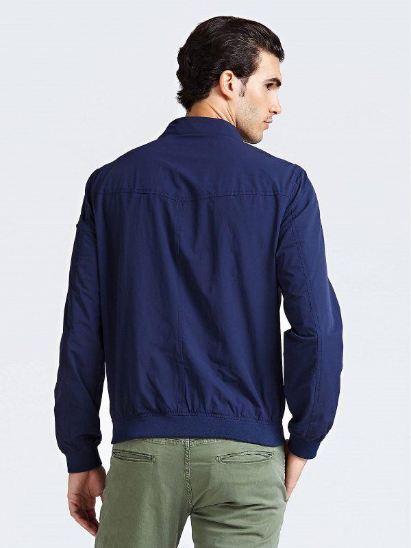 trending men dark blue jacket