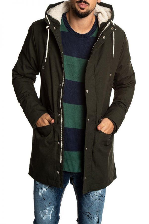 trending men green hoodie jacket