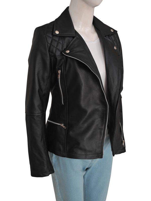 street fashion women leather jacket, street style women leather jacket,