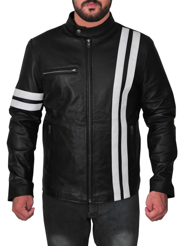 john tanner game leather jacket, john tanner san francisco leather jacket,
