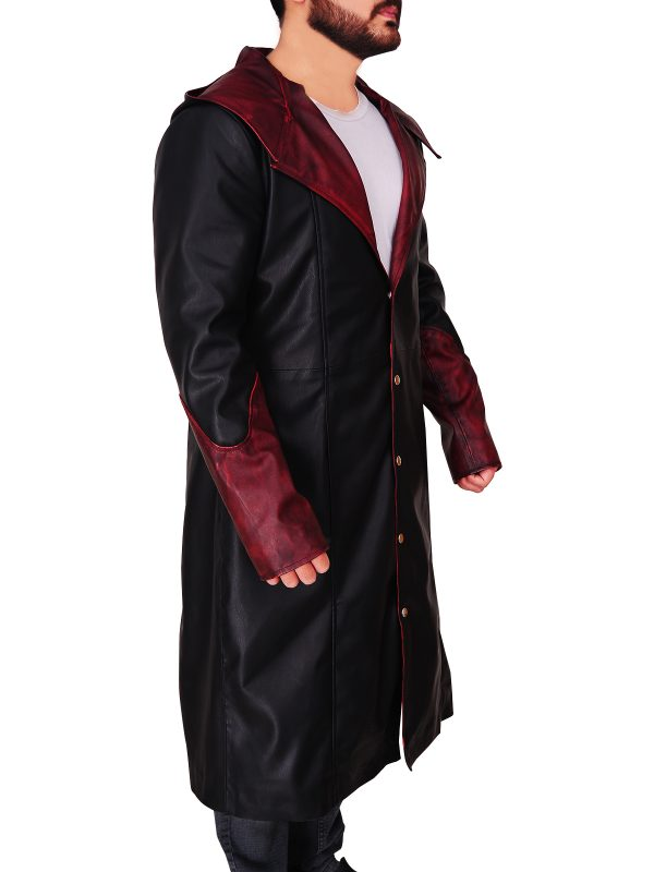 Gamer cosplay costume DMC, devil may cry 5 dante costume,