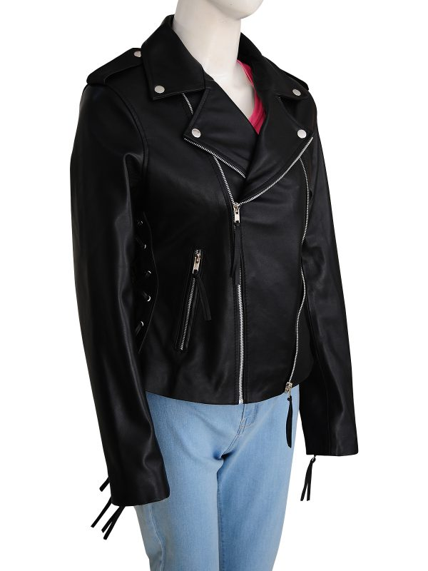 black brando leather jacket, black biker leather jacket,