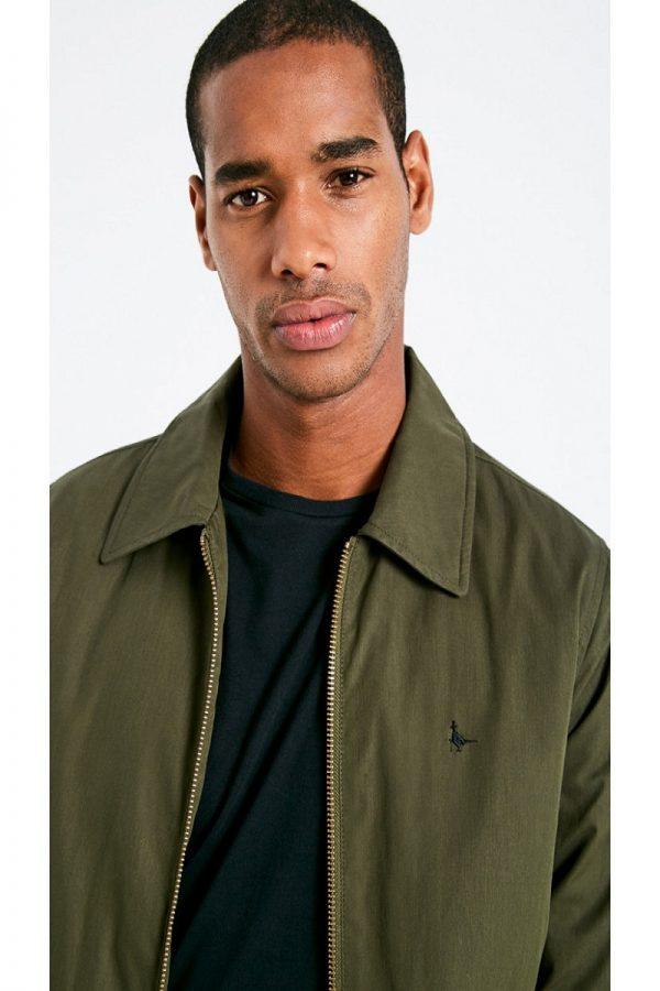trending men green jacket
