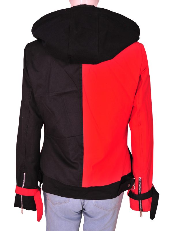 mauvetree suicide squad hoodie, mauvetree harley quinn red hoodie,