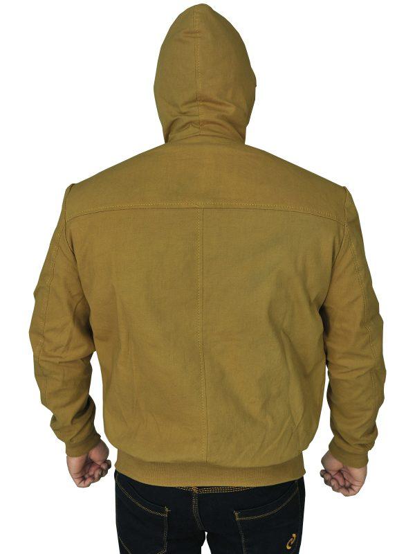 mauvetree men brown hoodie jacket, mauvetree stylish men hoodie jacket,