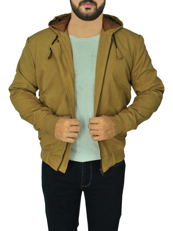 street fashion brown men hoodie jacket, street style men hoodie jacket,