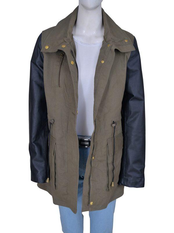 army green women utility jacket, military green women utility jacket,