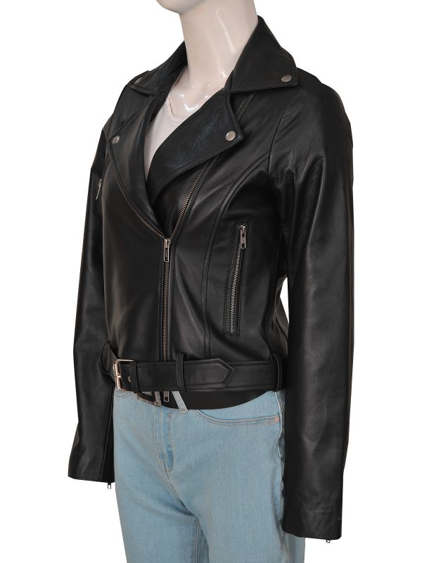 trending cry baby women leather jacket, cry baby jacket,