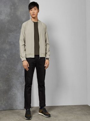men space grey jacket