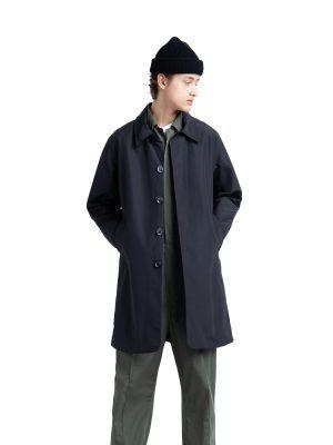 men black cotton coat