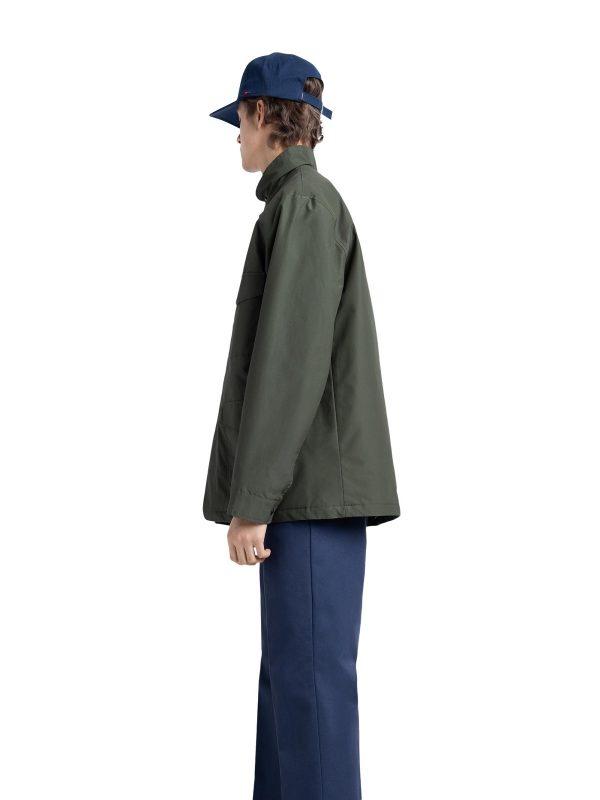 men olive jacket