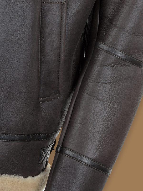 trend raf shearling jacket