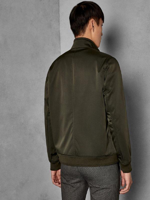 men dark green jacket