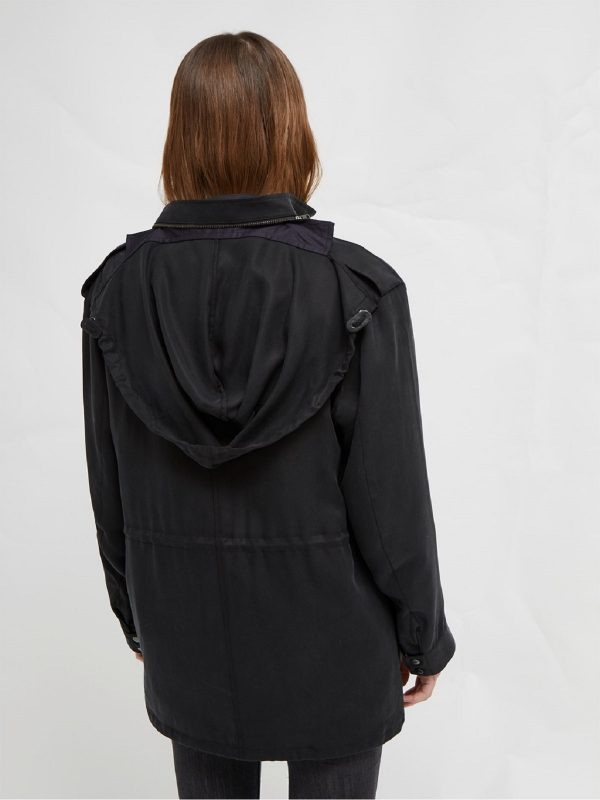women jacket with hoodie