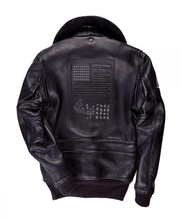 trendy men shearling jacket
