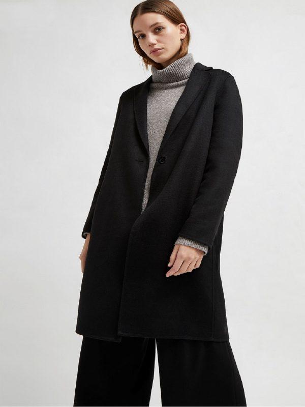 women black long coat