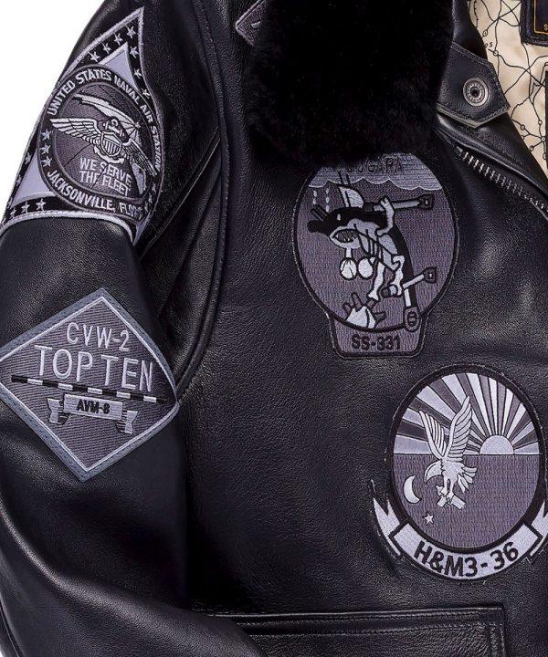 top gun style jacket for men