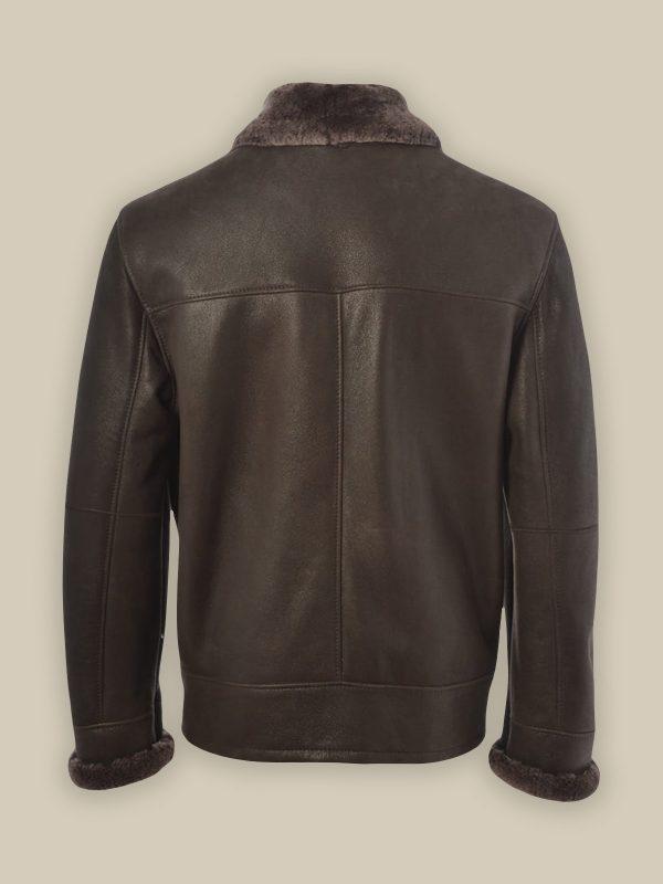 men raf sheepskin jacket