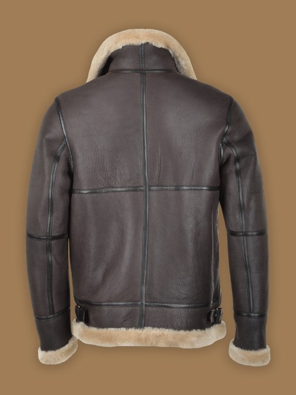 men raf shearling jacket
