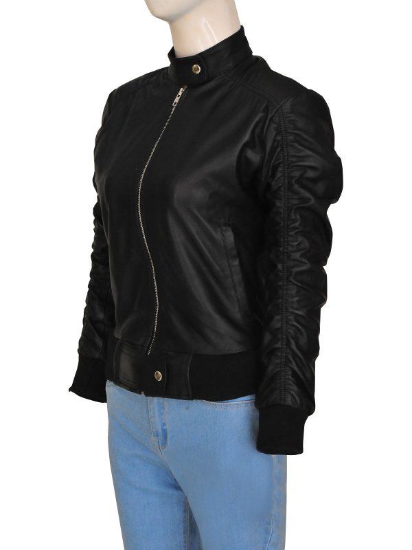 street style women leather jacket, street fashion women leather jacket,