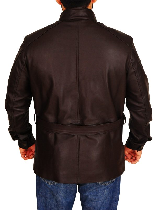 mauvetree classy brown field leather jacket, mauvetree classic brown field leather jacket,