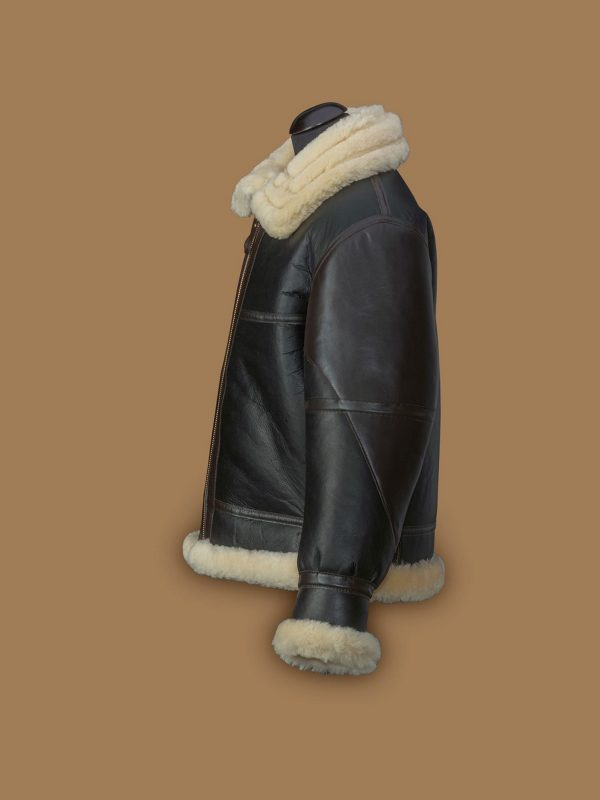 men trending b3 shearling jacket
