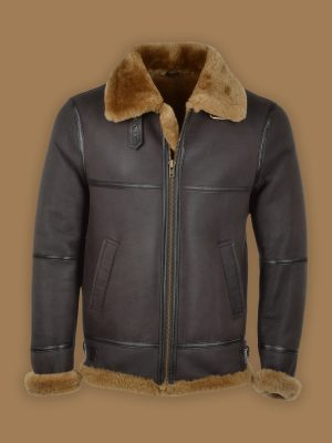 men black b3 shearling jacket