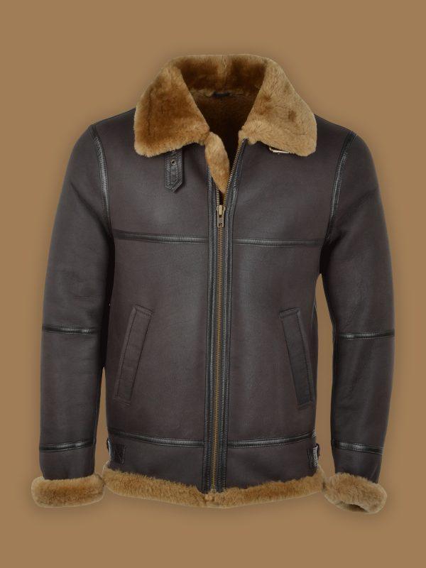 men black b3 shearling jacket