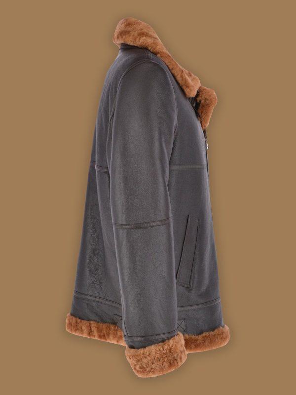 men trending brown jacket