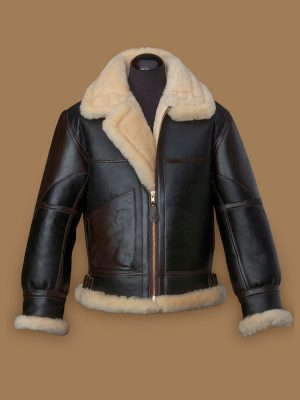 trending men b3 shearling jacket
