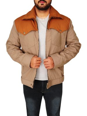 street style men casual jacket, men cowboy cotton jacket,