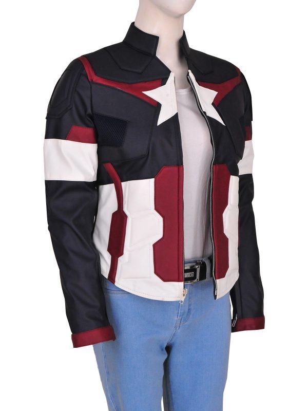 captain america cosplay costume for women, mauvetree trending avengers costume,