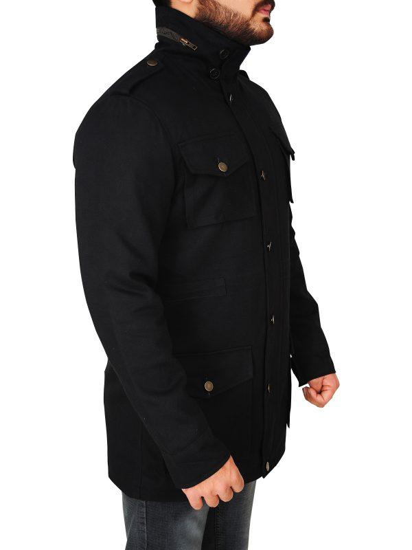streetwear wax cotton jacket, trendy barbour men jacket,