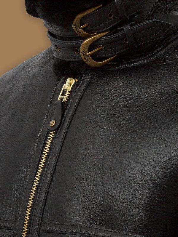 women b3 sheepskin leather jacket
