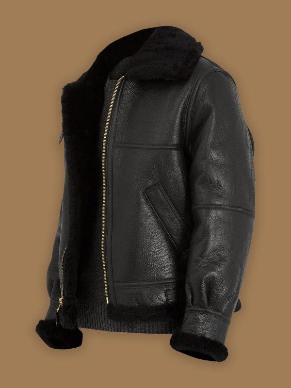 women black b3 shearling jacket