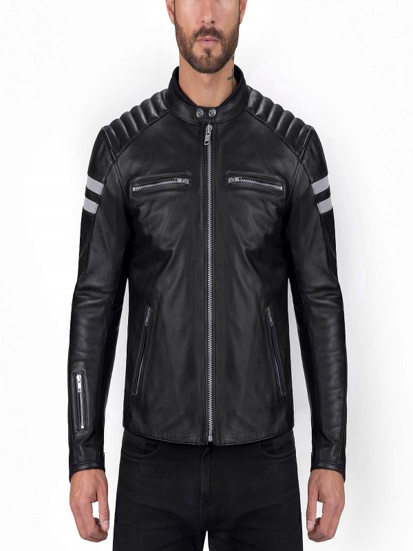 stylish biker jacket