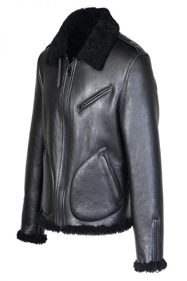 men shearling jacket
