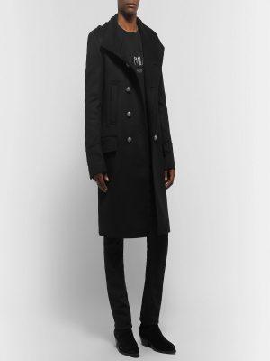 men black wool coat