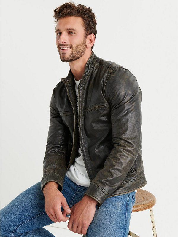 men biekr jacket