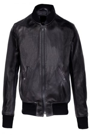 men black college jacket
