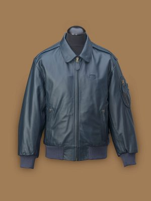 men a2 leather jacket