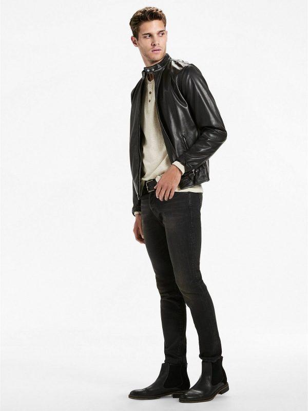 men black detectice jacket